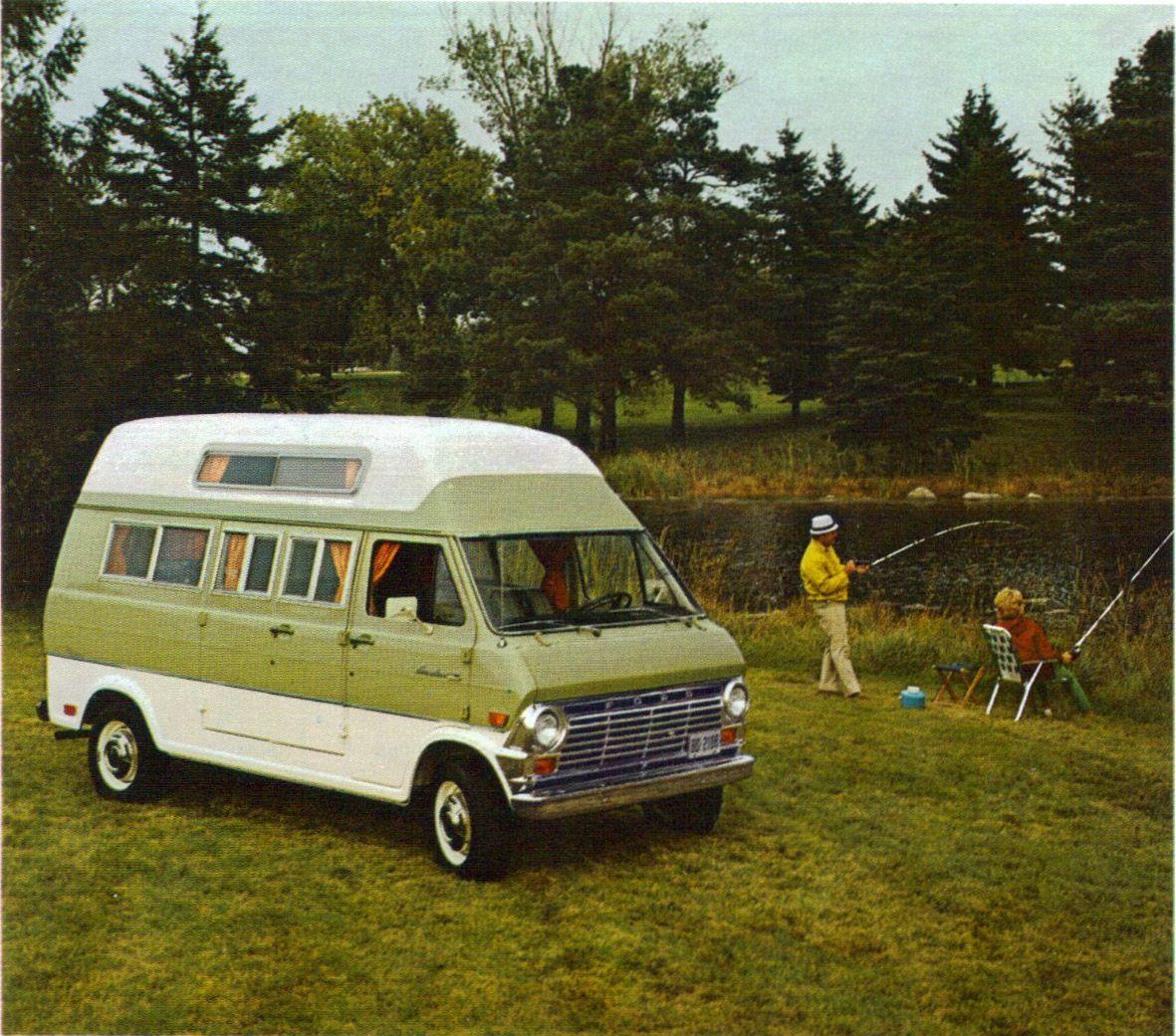 Van Clubs Of The 70s 1969 Ford Econoline Camper Vannin 1980 Dodge