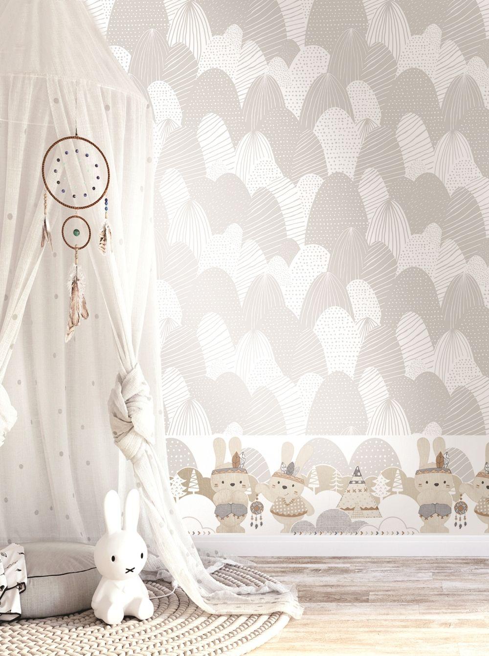 Tapeten Fur Babys Kinder Kinder Tapete Rasch Textil Kinderzimmer