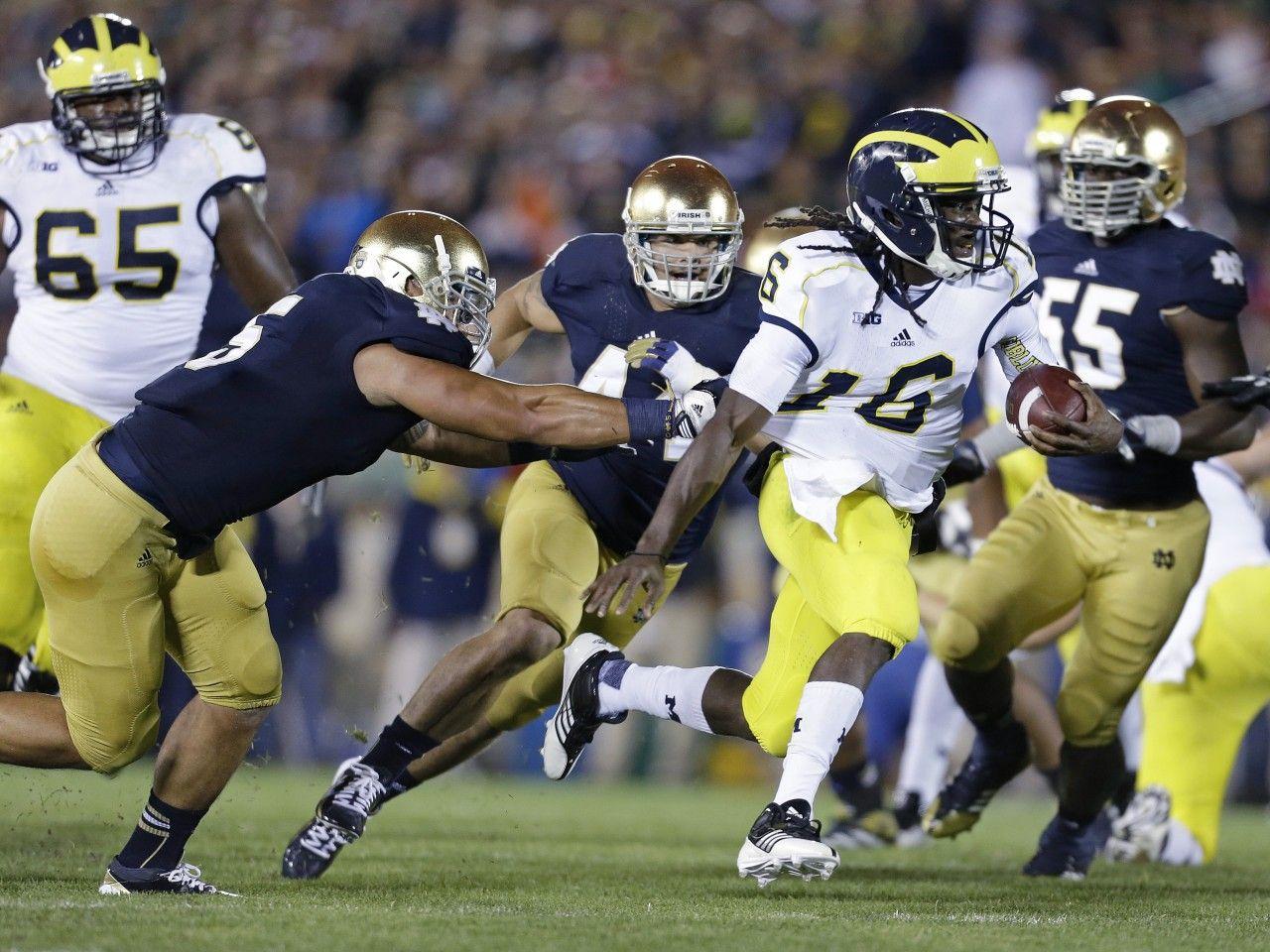 ANN ARBOR, Mich. (AP) — Notre Dame Big ten football