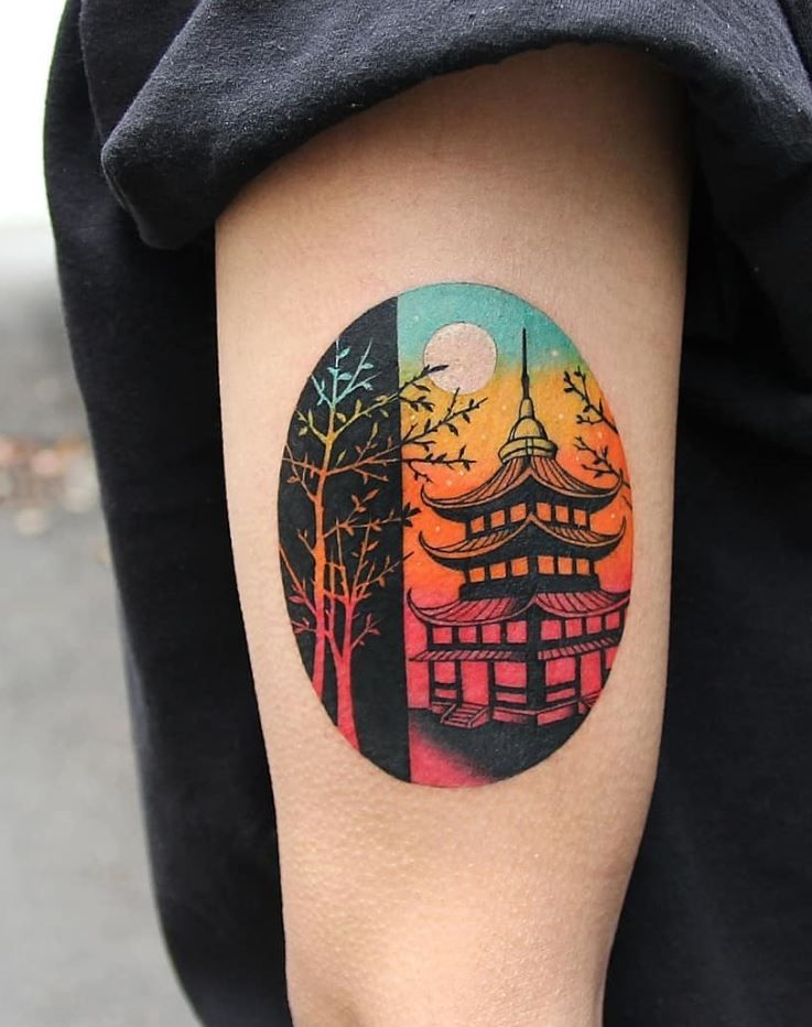 50 Best Colorful Tattoos For Everyone Thetatt Tattoos Color Tattoo Body Art Tattoos