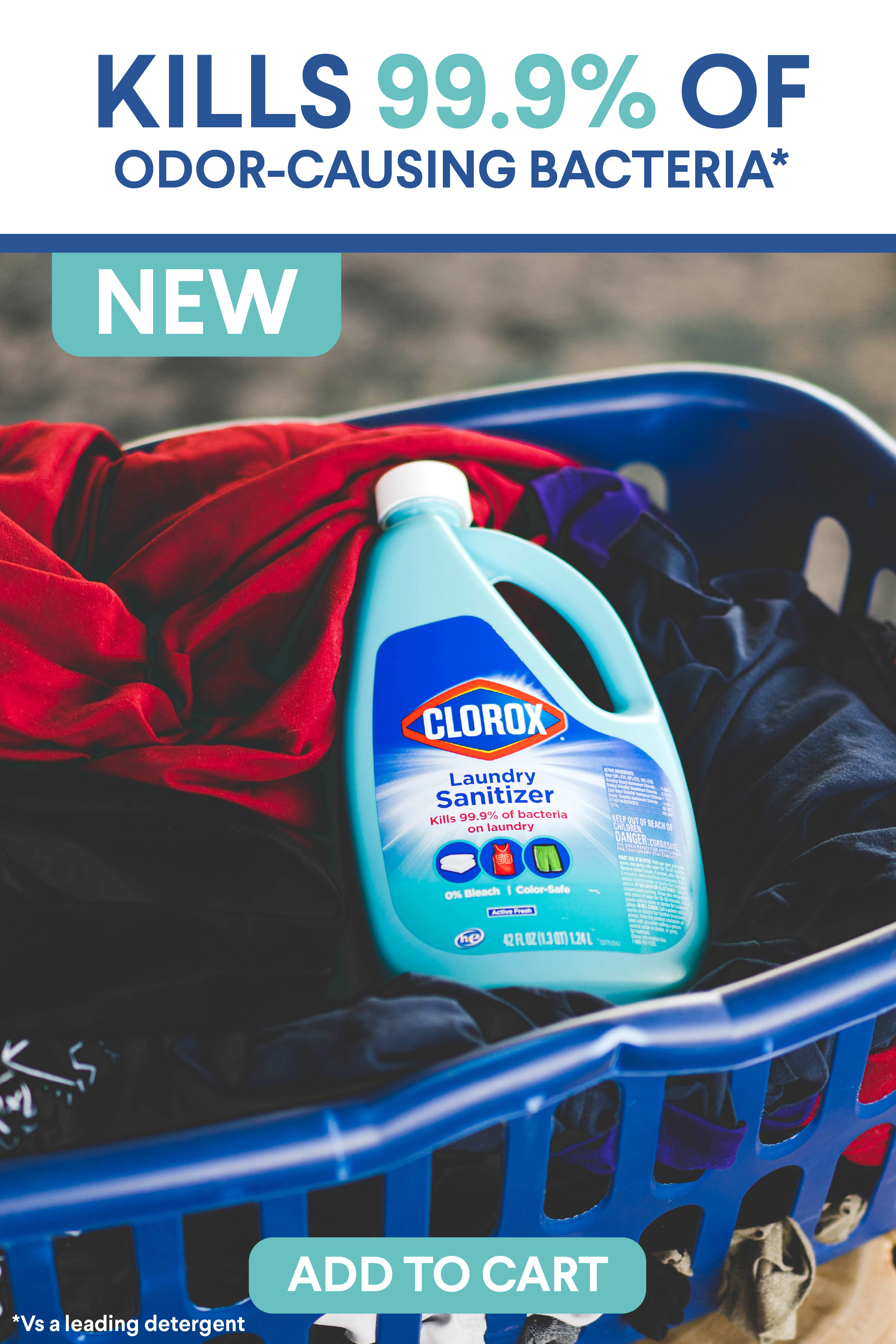 Eliminate Smelly Odors In 2020 Laundry Clorox Laundry Detergent