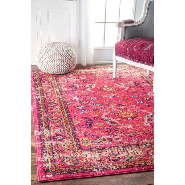 Cher Pink Area Rug | Living rooms, Bungalow and Pillows