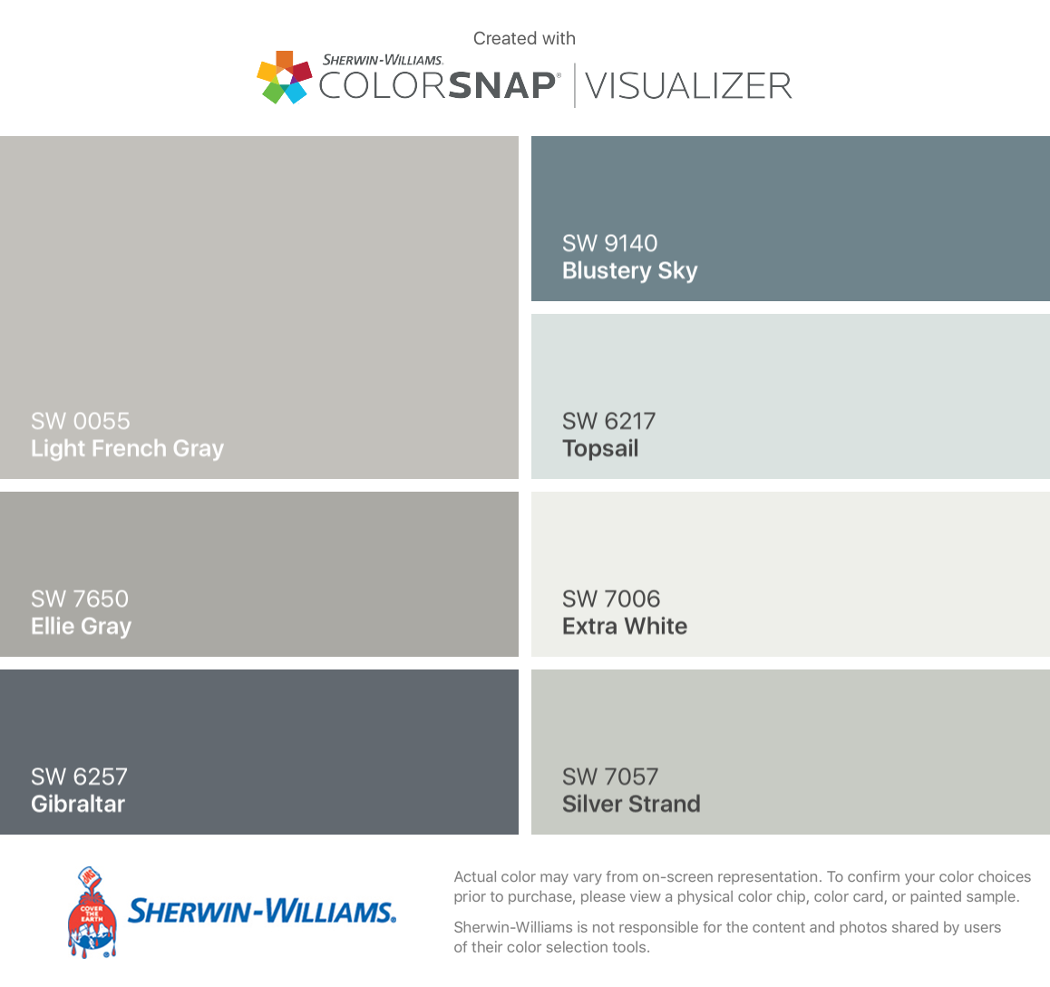 Our color palette!! | For the Home | Pinterest