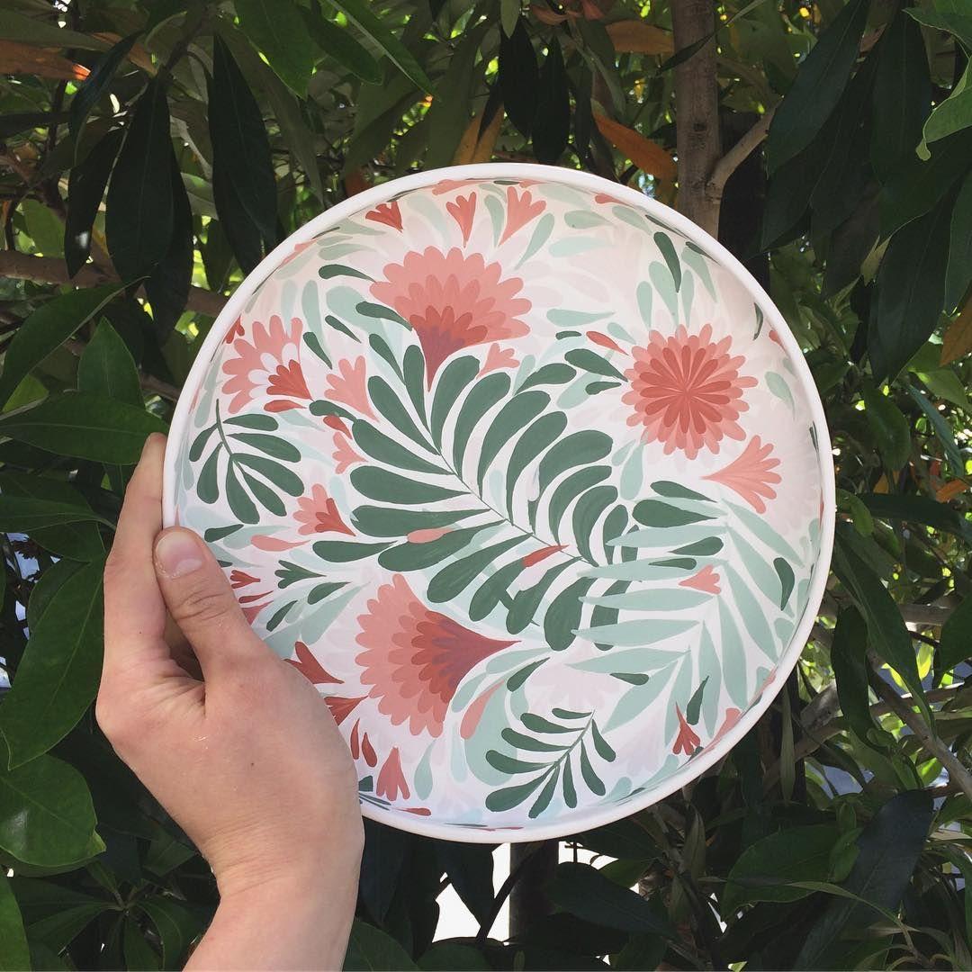 "Λ N Λ S T Λ S I Λ on Instagram: ""What would you eat off a plate like this? 🌿🌞 . . . . #anastasiatumanova #botanicalceramics #ceramics #keramik #porcelain…"""
