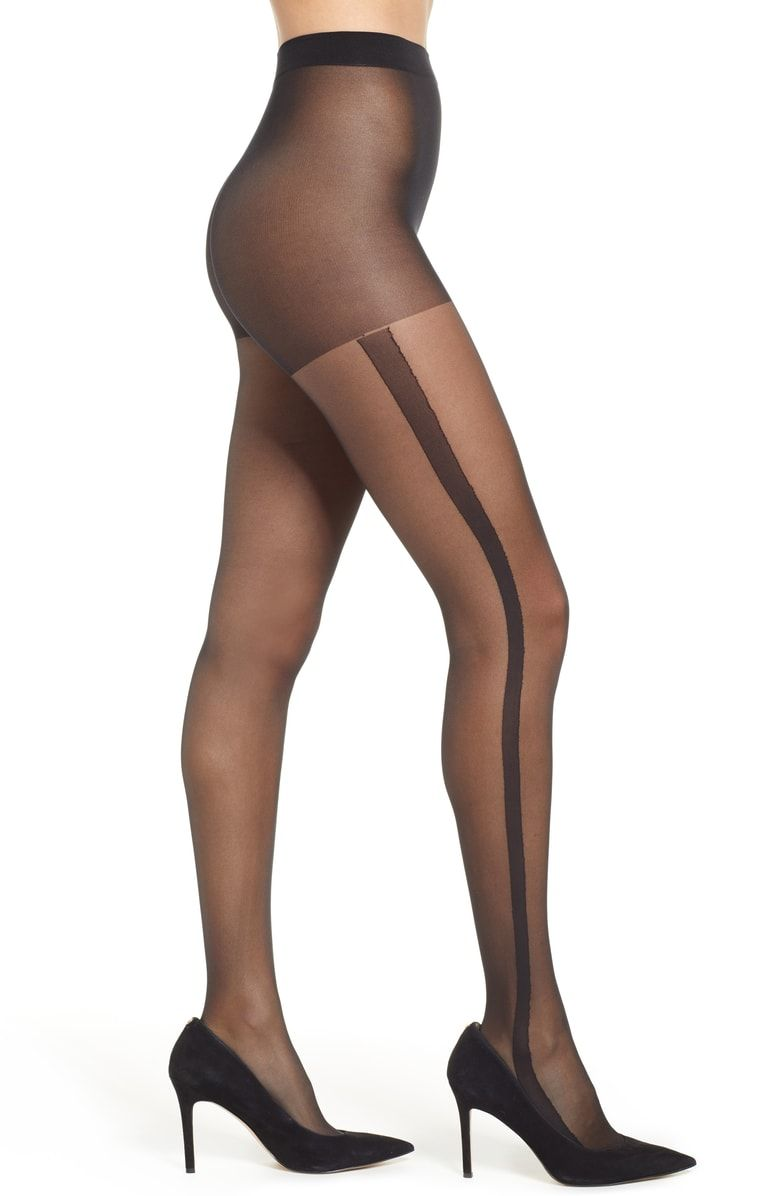 2e72b07d3 Pretty Polly Stripe Sheer Tights - See more tights at www.fashion-tights.