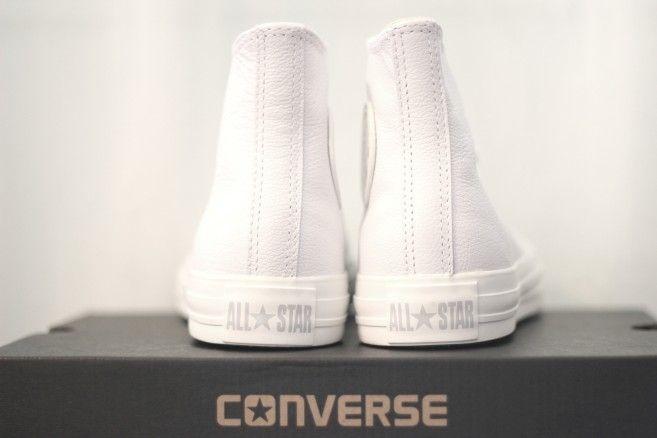 all white converse! | White converse