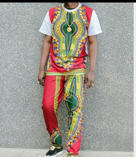 African/ethnic /dashiki mens suit by AFROCOLLECTION2015 on Etsy