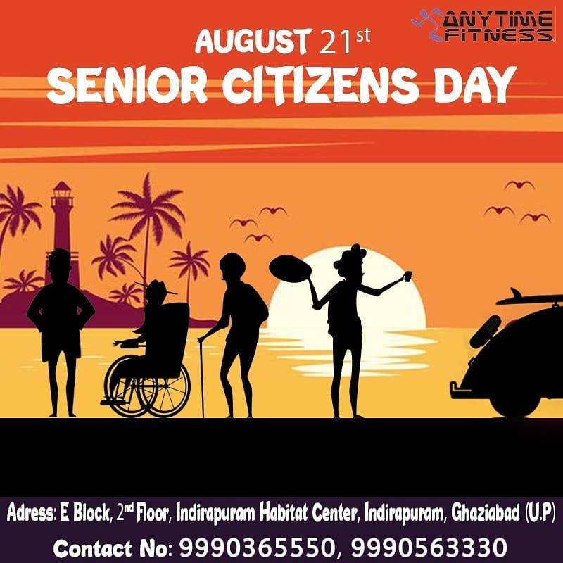 """Happy world's senior citizen day! """"Senior citizen's are those who bring out the Best in you and not..."""