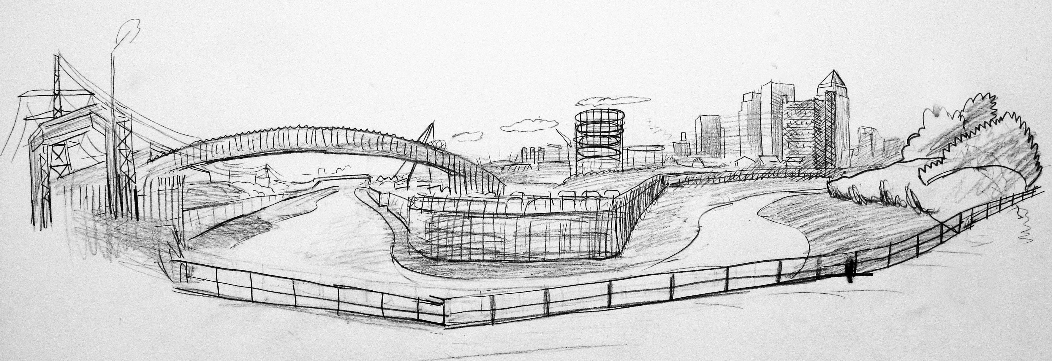 London drawing, Observational drawing
