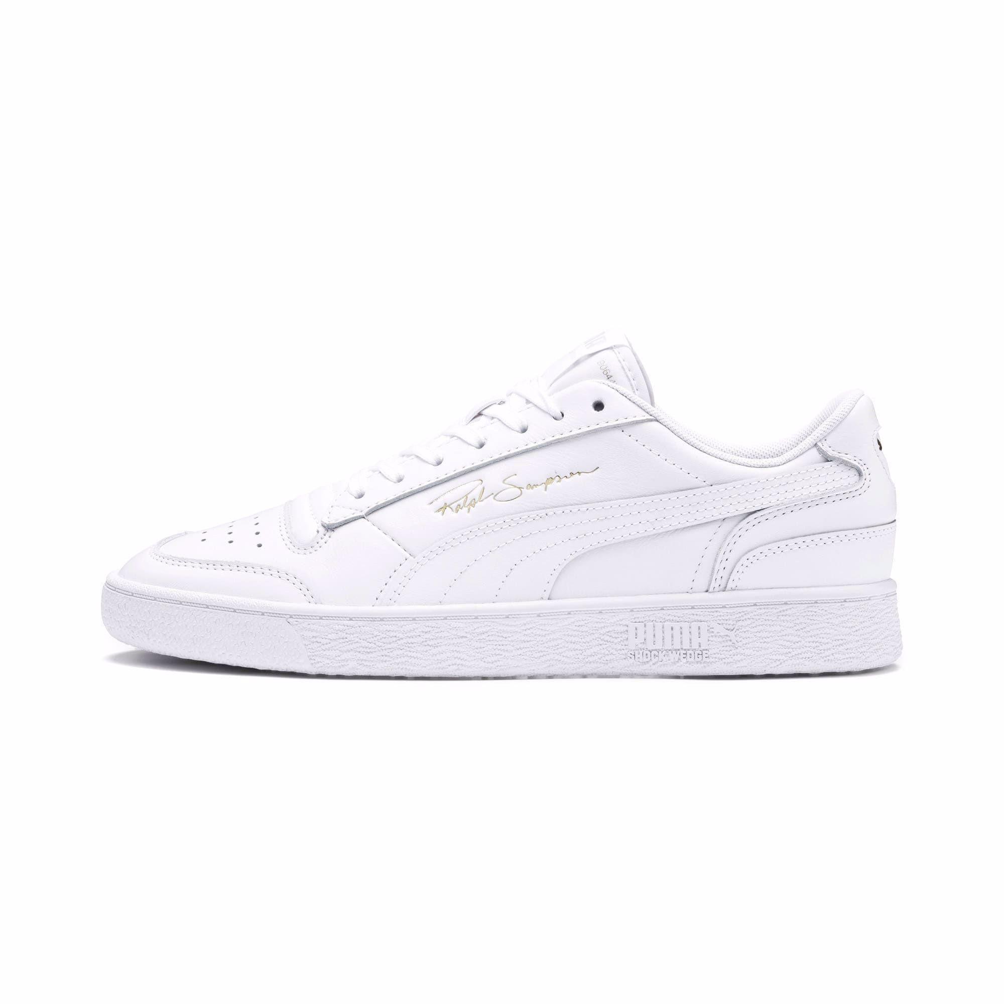 puma frill trainers white