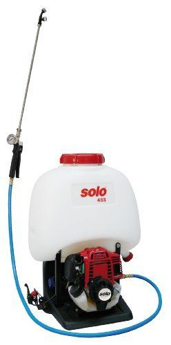 Solo 433 5 Gallon 25cc 4 Stroke Gas Powered Backpack Sprayer By Solo 667 37 Features Electronic Ignition And Anti Vibe Sprayers Uv Resistant Pressure Gauge