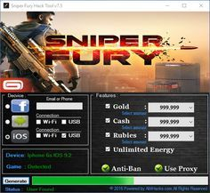 hack sniper fury windows 10 cheat engine
