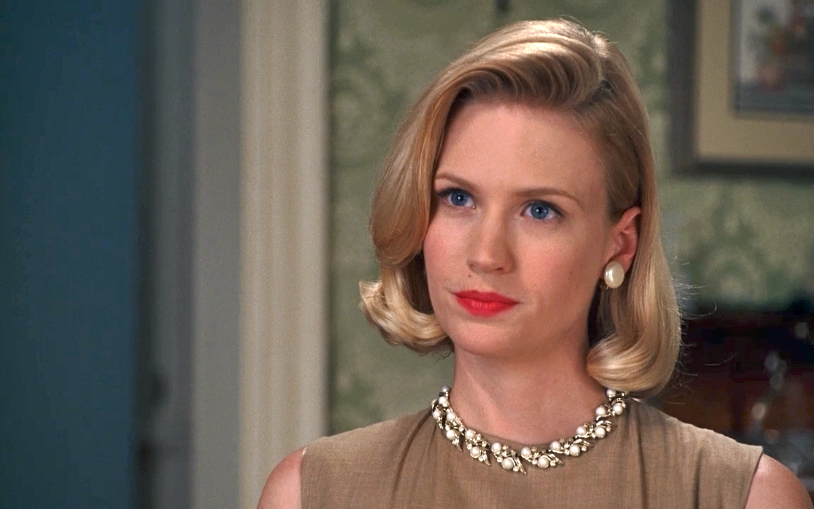 On Betty Draper Mad Men S Most Reviled Character Who I Still Find Appealing At Beginning Of Final Season Mad Men Hair Vintage Hairstyles Hair Styles