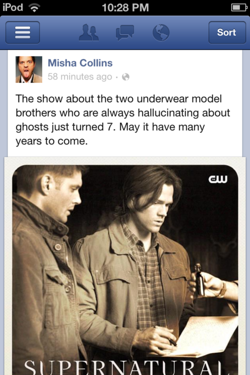 supernatural | Tumblr - Misha Collins everyone
