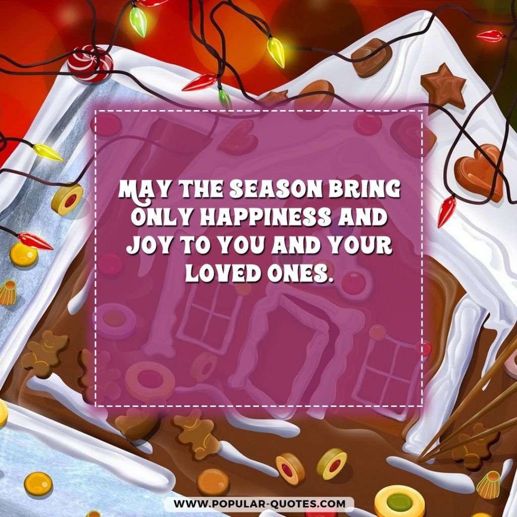 May the season bring only happiness and joy to you and your loved may the season bring only happiness and joy to you and your loved ones christmas greetingschristmas kristyandbryce Choice Image