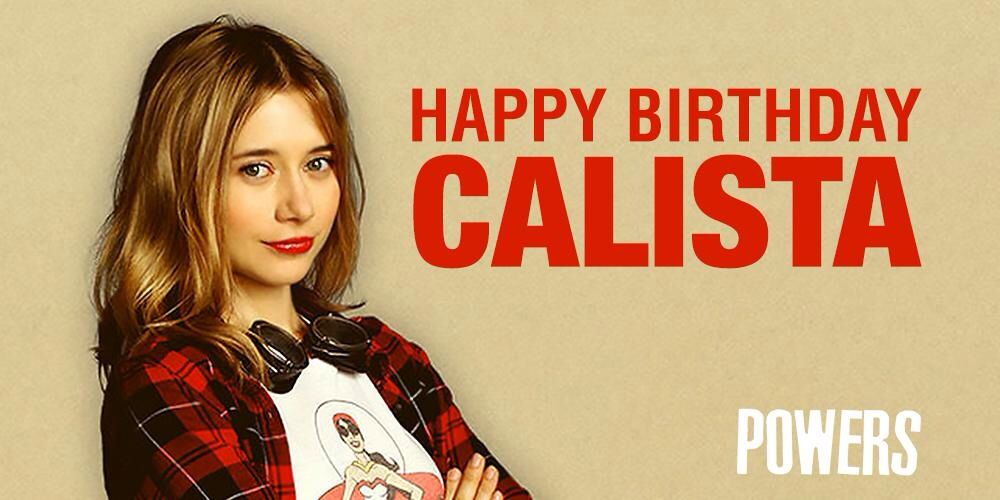Happy birthday Olesya! Pic from PowersTheSeries on Twitter!
