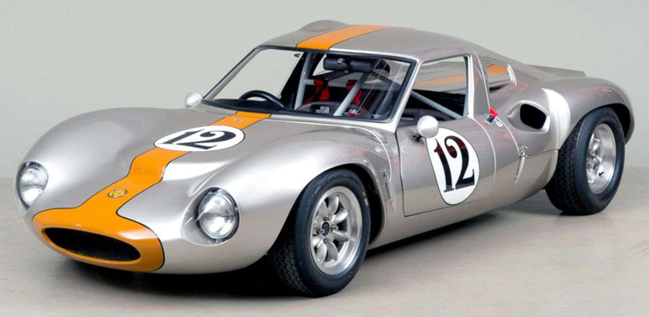 Ginetta G12, 1967. Oneof approximately 28 examples built, delivered new to Los Angeles, California... - #1960's #1967 #Car #cars #engine #for #G12 #Ginetta #historicracing #Lotus #mid-engine #race #sale #track