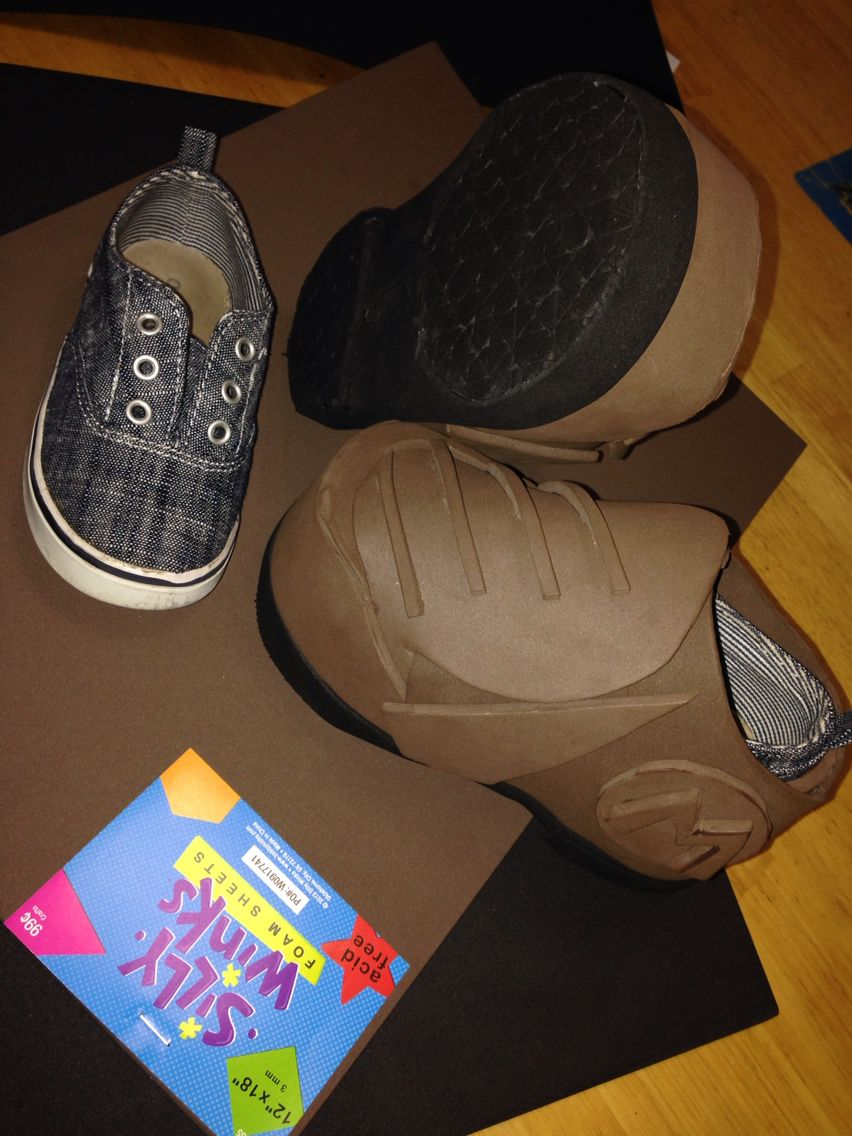 timeless design d9708 2b0df Home made Super Mario boots for my sons Halloween costume. Made from craft  foam and an old pair of boat shoes. Only cost about  6- for total project.