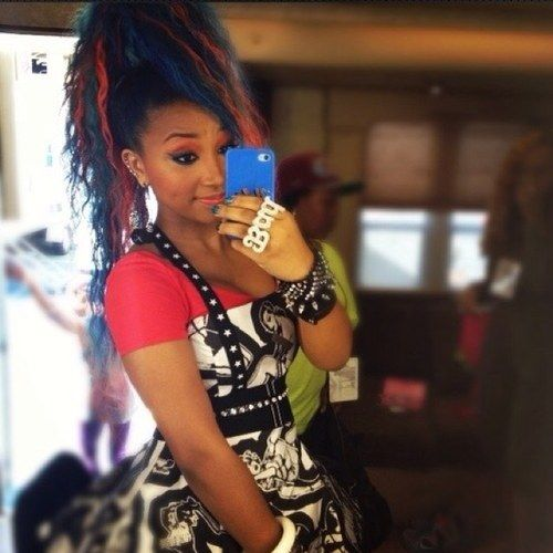 Zonnique Pullins Real Hair My baby   Zonni...