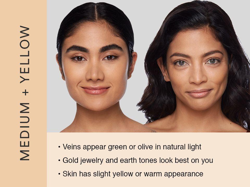 Medium Yellow Undertone Yellow Undertone Skin Shade Finder Complexion Rescue