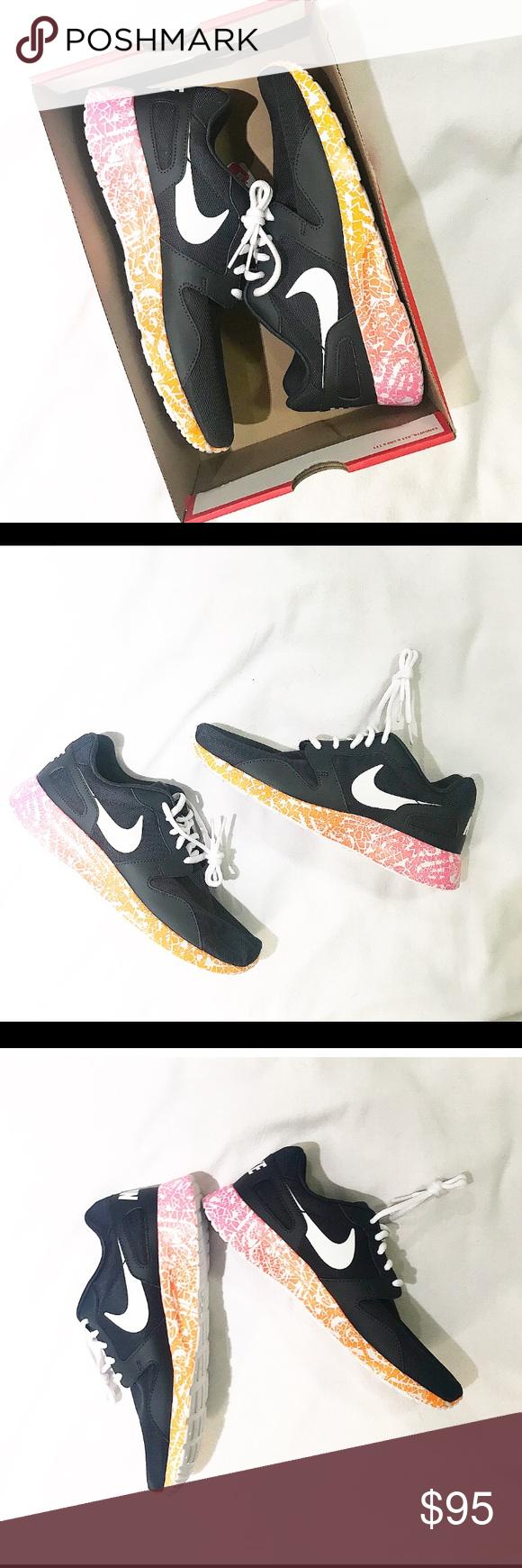 NWT! Nike kaishi print athletic shoes size 10 Athletic shoes, Box