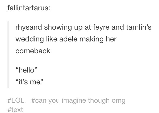 I Was Just Like Thank God I Really Didn T Want Her To Marry Tool I
