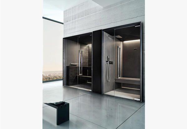 Bagno turco con saune da casa per una mini spa domestica elle
