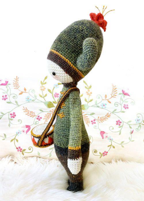Crochet Pattern Doll CARL the cactus PDF by lalylala on Etsy, €5.50 ...