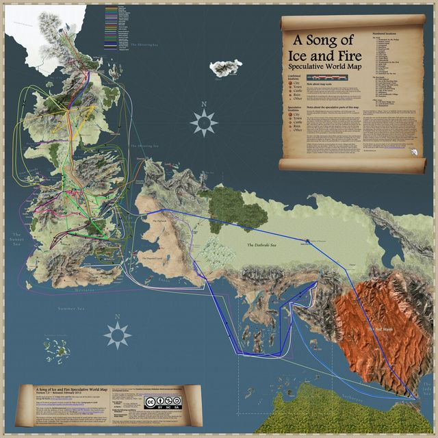 The most incredible fantasy maps youve ever seen pinterest westeros and essos from game of thrones the most incredible fantasy maps youve ever seen gumiabroncs Images