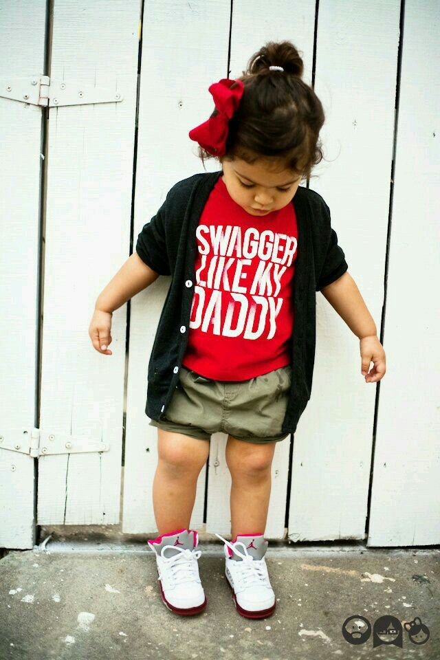 Swag baby | Cute outfits for kids, Baby girl fashion, Baby ...