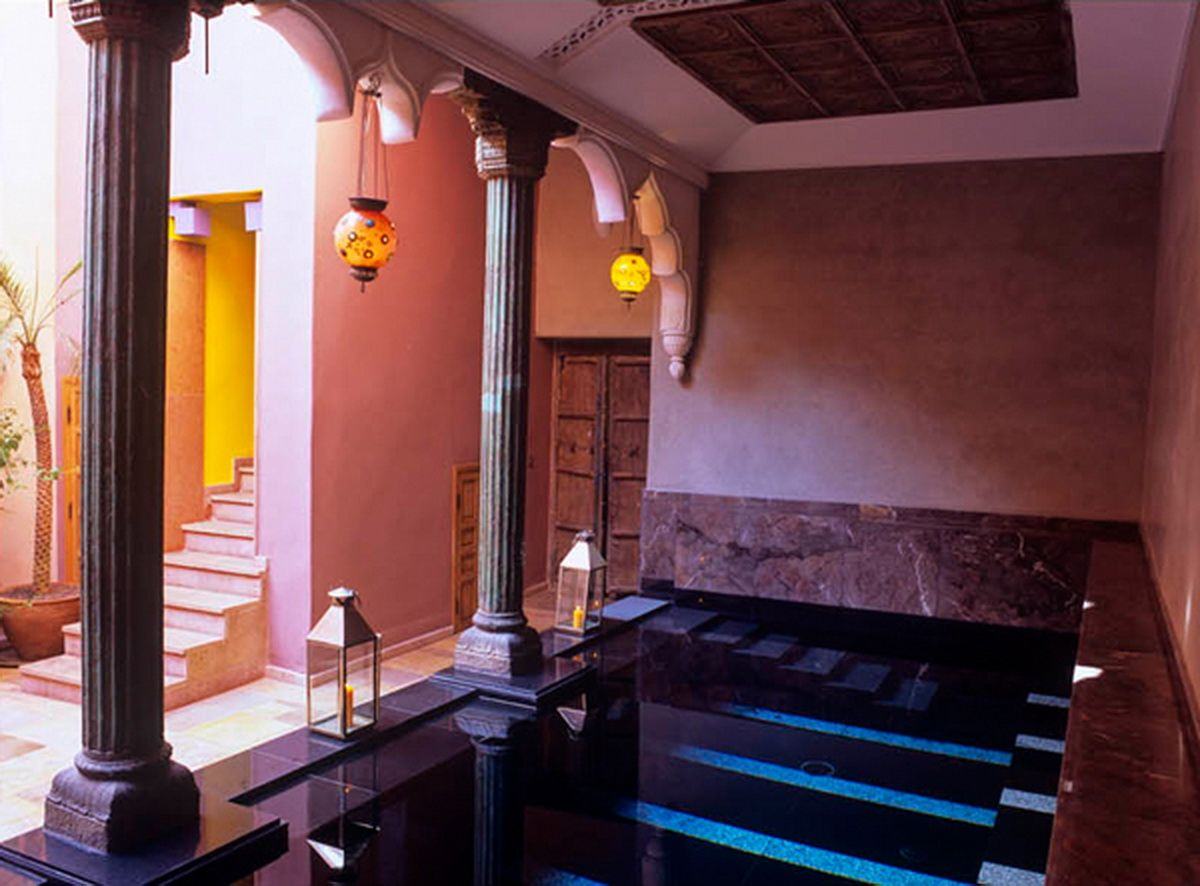 Riad Enija in Marrakech,Morocco It is an exotic boutique hotel ...