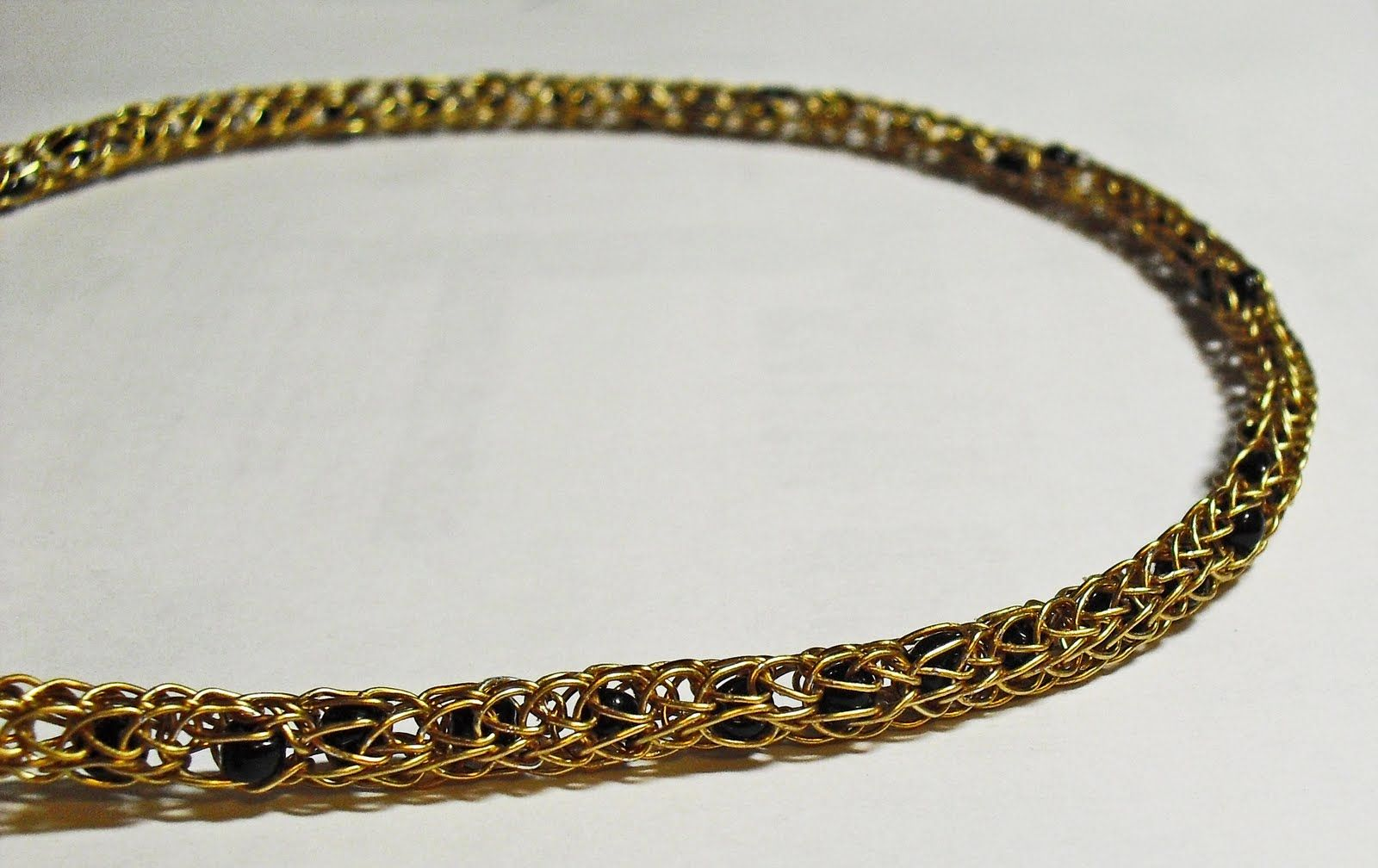 Viking Wire Weaving | Tangible Daydreams: More Viking wire weaving ...