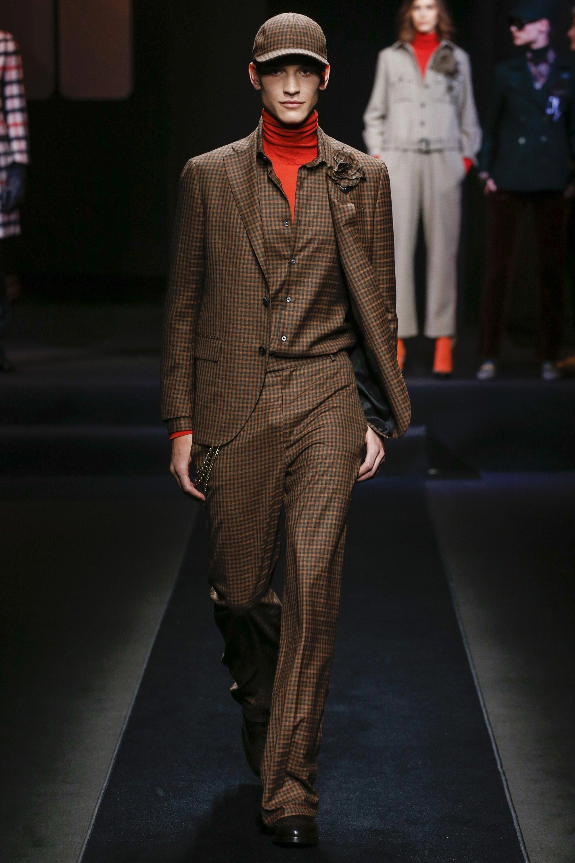 The complete Daks Fall 2018 Menswear fashion show now on