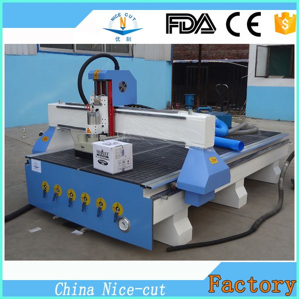 NC-1325 CHINA 3D CNC Engraving Machine With Workiing Area