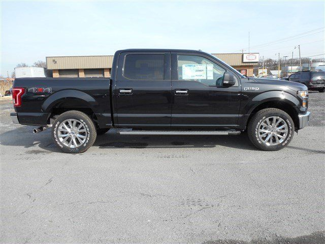 New 2015 Ford F 150 Nicely Equipped And Ready To Go On An