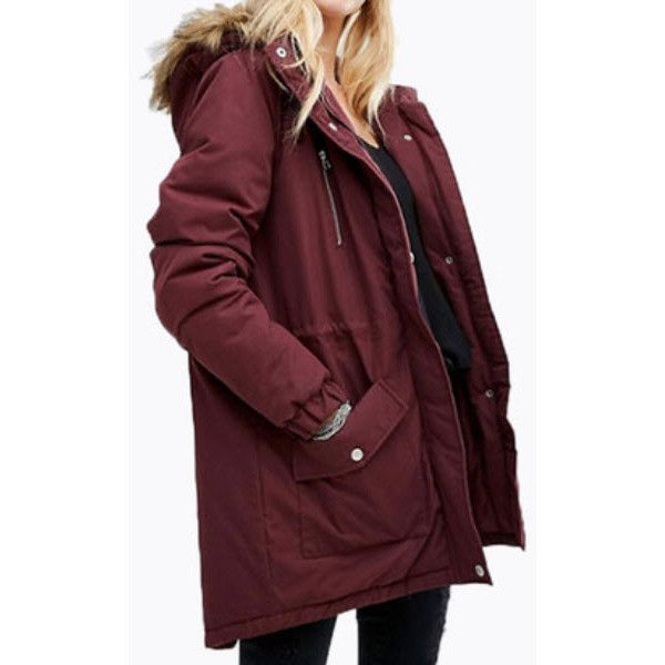 Landslide Parka (660 HKD) ❤ liked on Polyvore featuring outerwear ...