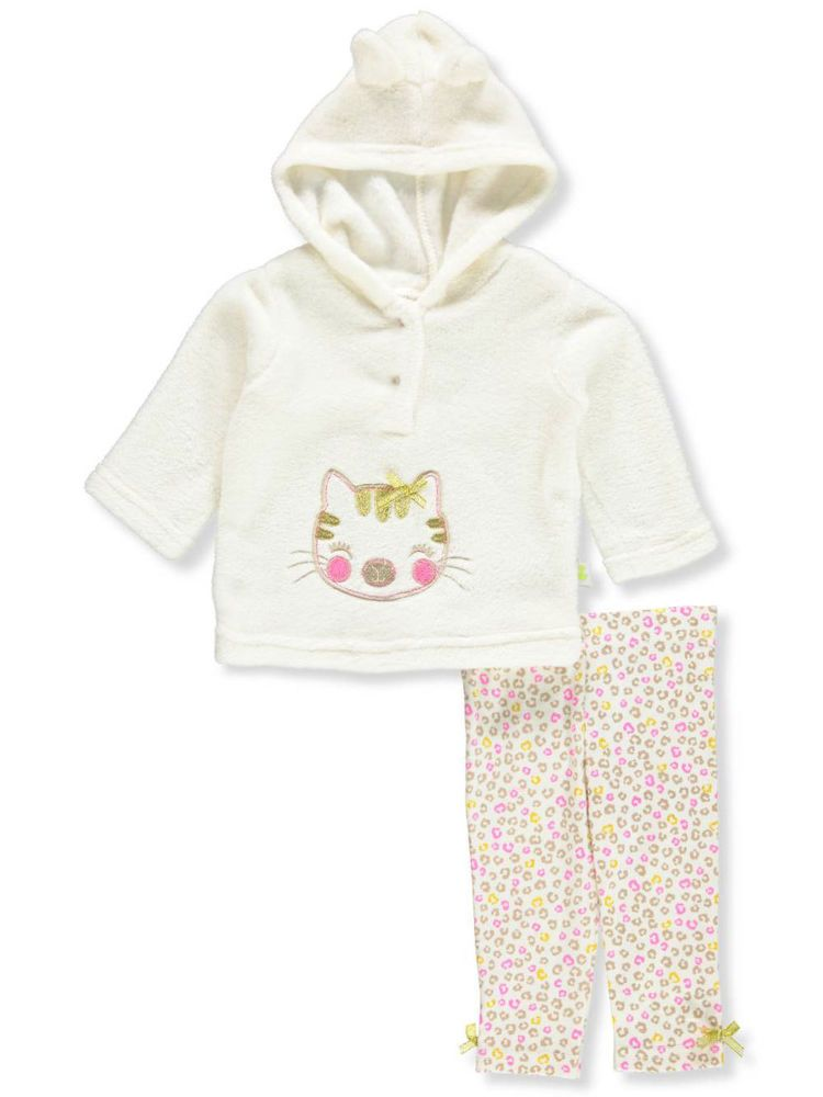 Duck Duck Goose Baby Girls 2 Piece Leggings Set Outfit Fashion