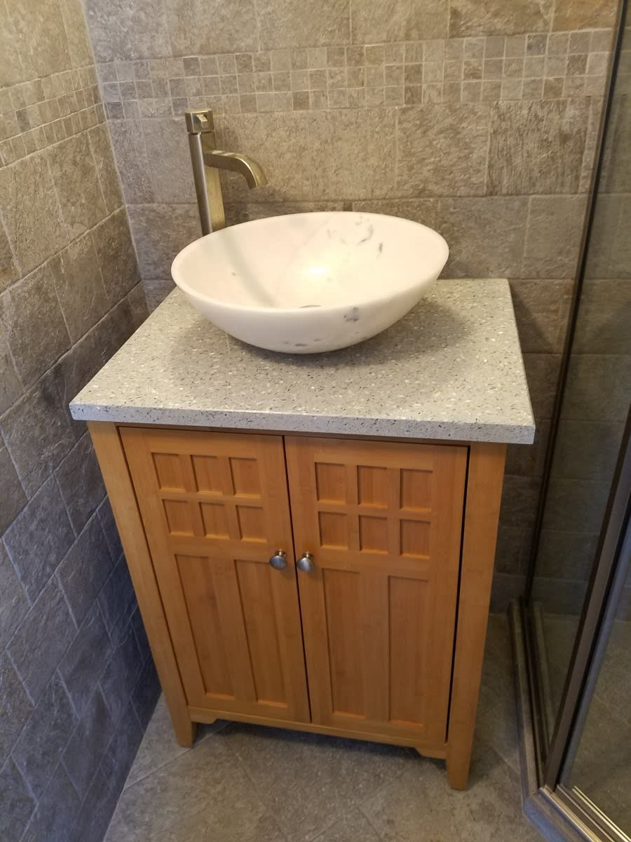 Recycled Glass Countertops By Icestone Are Made From 100 Recycled