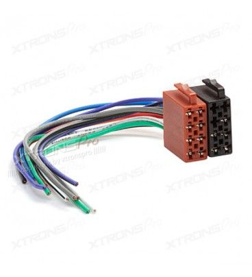 Universal Male ISO Radio Plug Adapter Power Auto Wiring