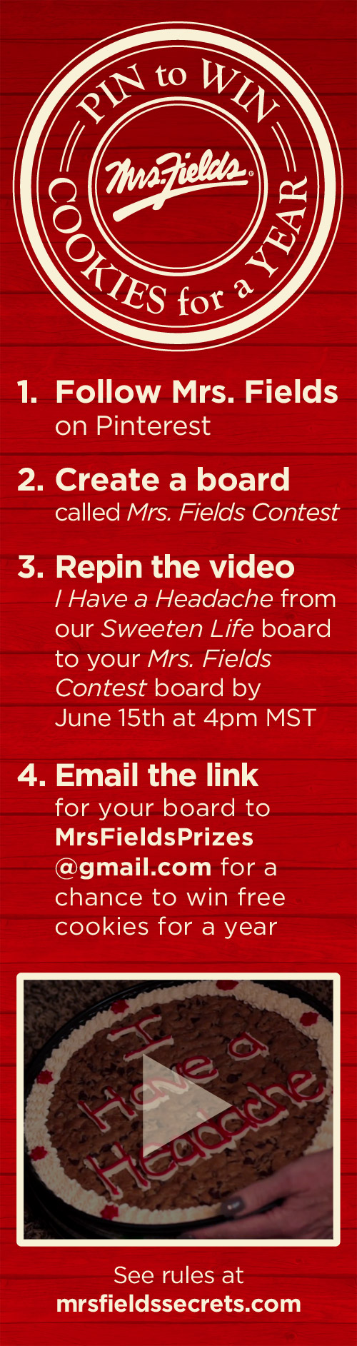 Pin to Win Contest Rules