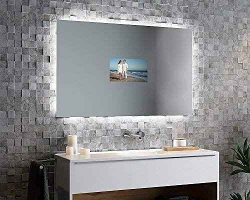 Spiegelando Luzina V40 - TV Spiegel mit LED Beleuchtung - spiegel badezimmer mit beleuchtung