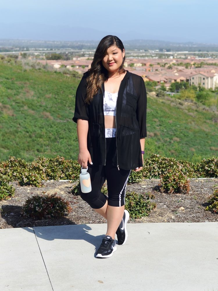 Curvy Girl Chic Plus Size Workout Gear and Activewear - Forever21+ and Nike
