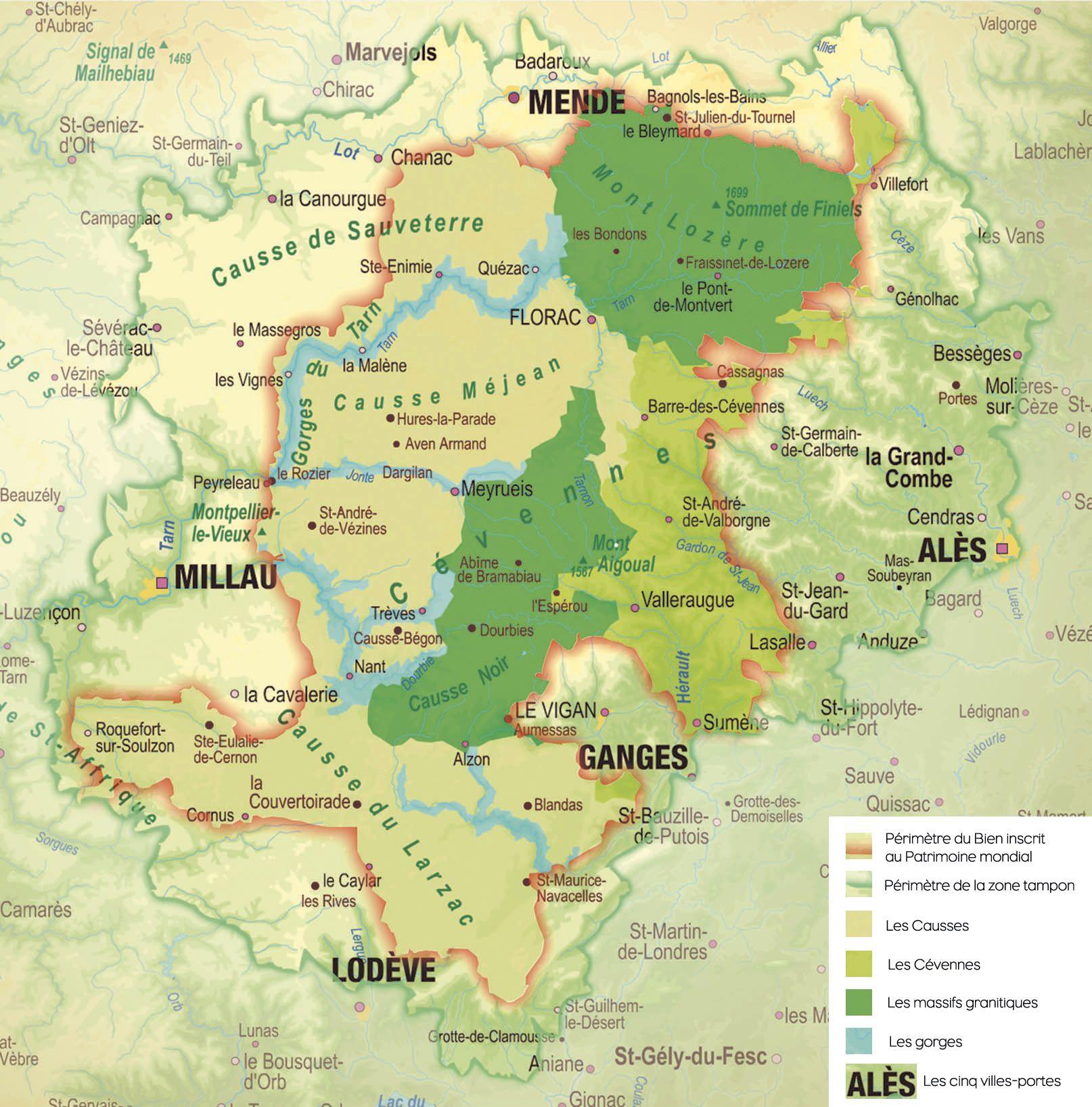 parc national des cevennes carte Le parc national des Cévennes (avec images) | Parc national des