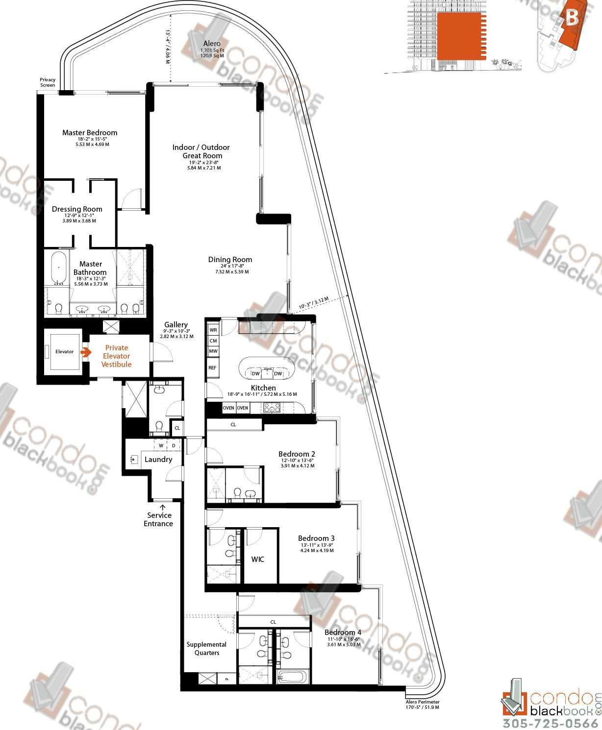 Faena House Site Plan And Floor Plans In Miami Beach Miami Faena House Floor Plans Apartment Floor Plans