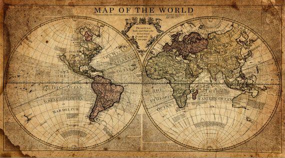 Globe Tan Map World Map Canvas Vintage Map Art Brown Gold Etsy In 2021 World Map Canvas World Map Wall Art World Map Wall
