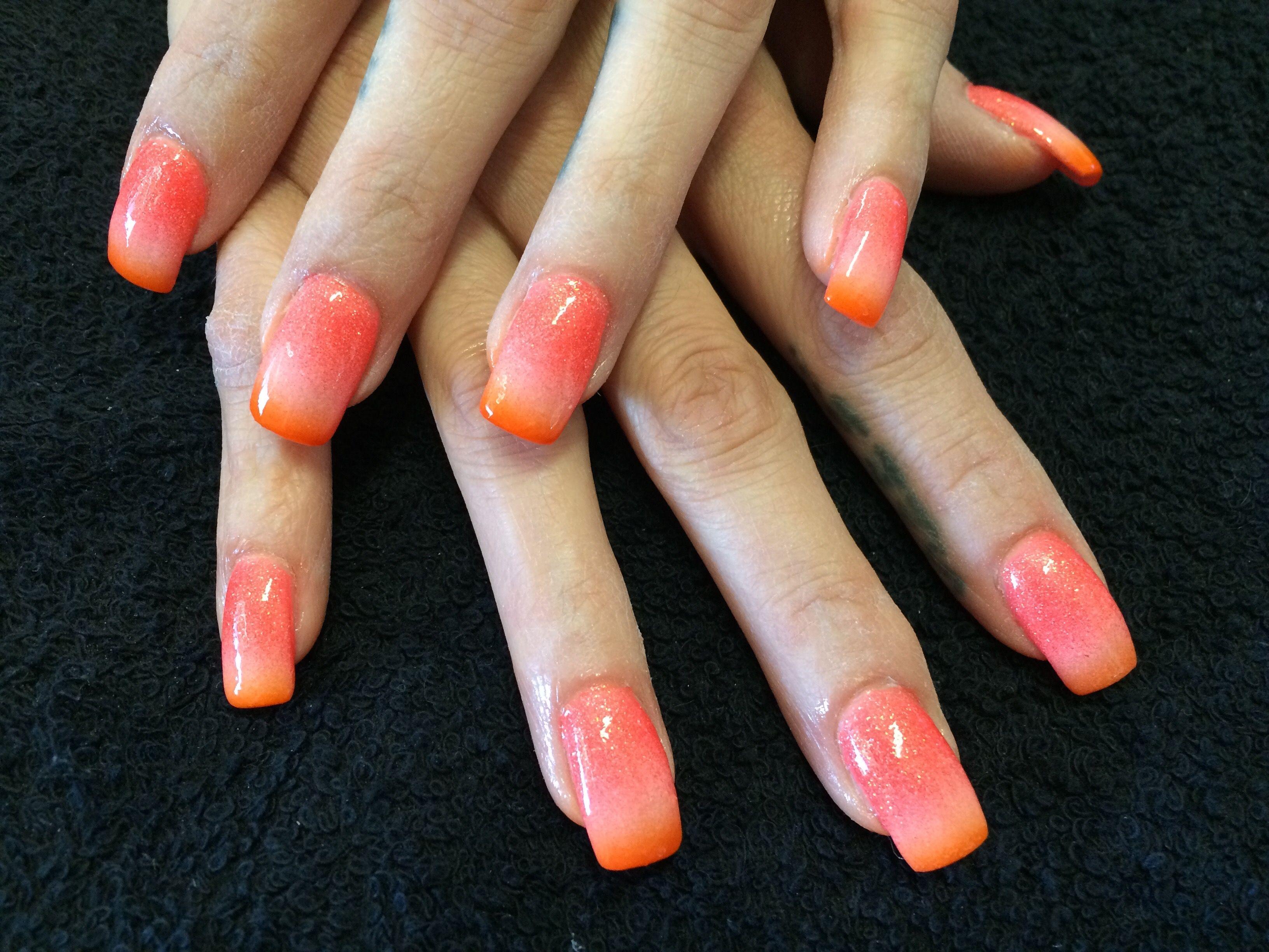 Mango Ombr Nails