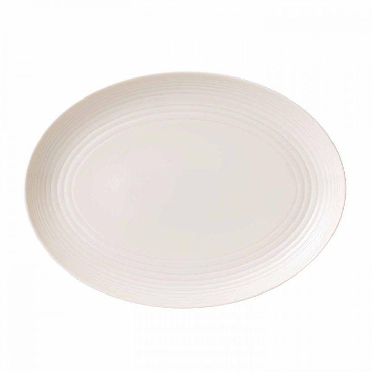 Royal Doulton Gordon Ramsay Maze White Oval Dish