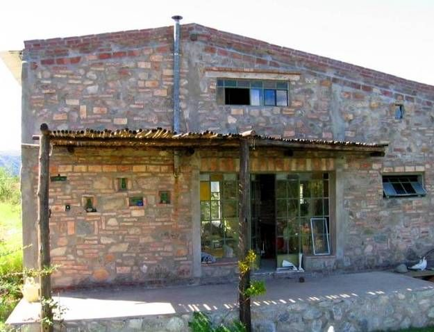 Construcci n de bajo presupuesto casa arquitectura - Construccion casas de piedra ...