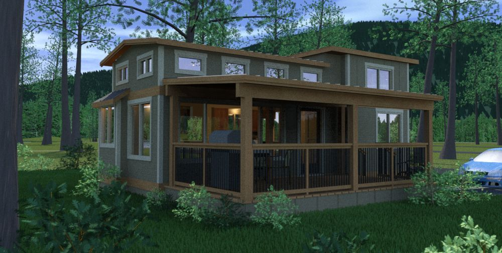 Our Whidbey Cottage Design Is The First Of Three New Designs Released Spring 2015