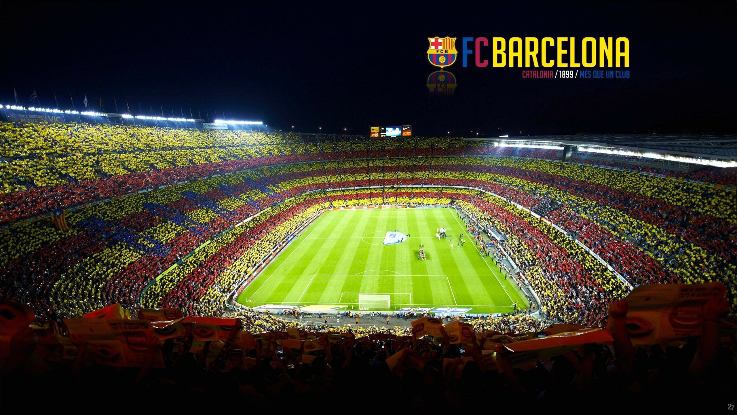 11+ Fc Barcelona Camp Nou Wallpaper 4K
